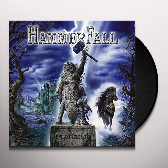 Hammerfall (R)EVOLUTION Vinyl Record - UK Release