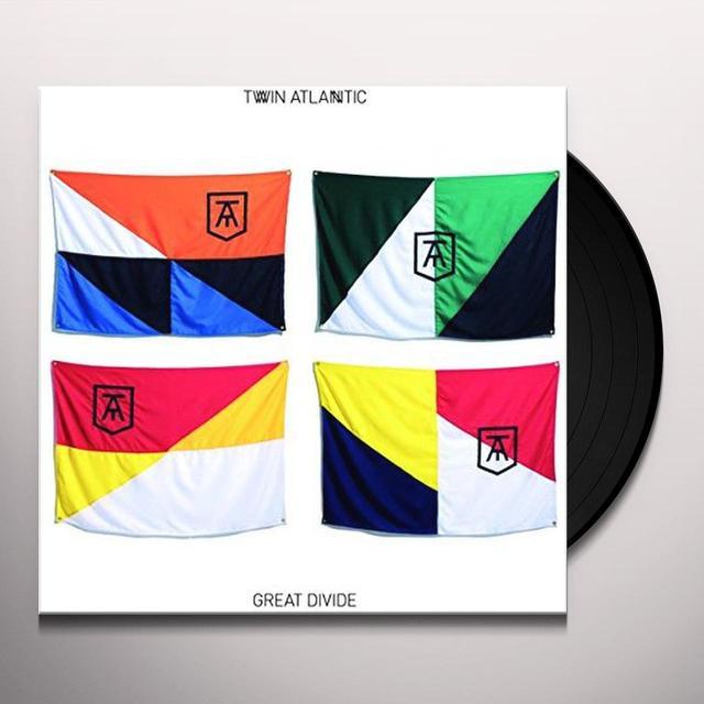 Twin Atlantic GREAT DIVIDE Vinyl Record - UK Import