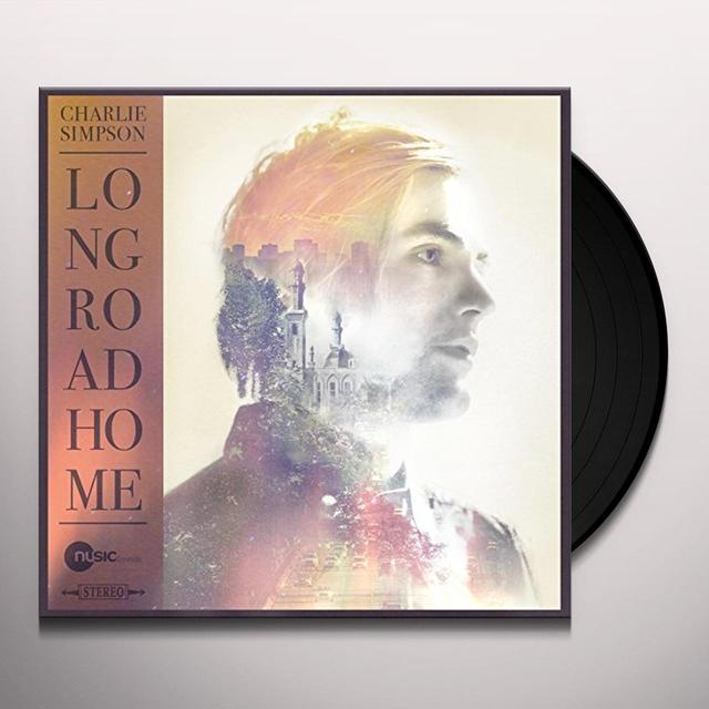 Charlie Simpson LONG ROAD HOME Vinyl Record