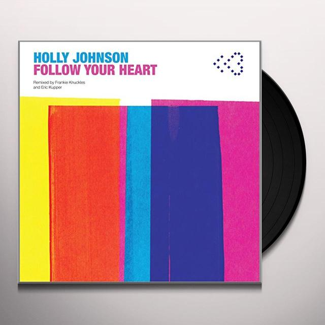Holly Johnson FOLLOW YOUR HEART Vinyl Record - UK Release
