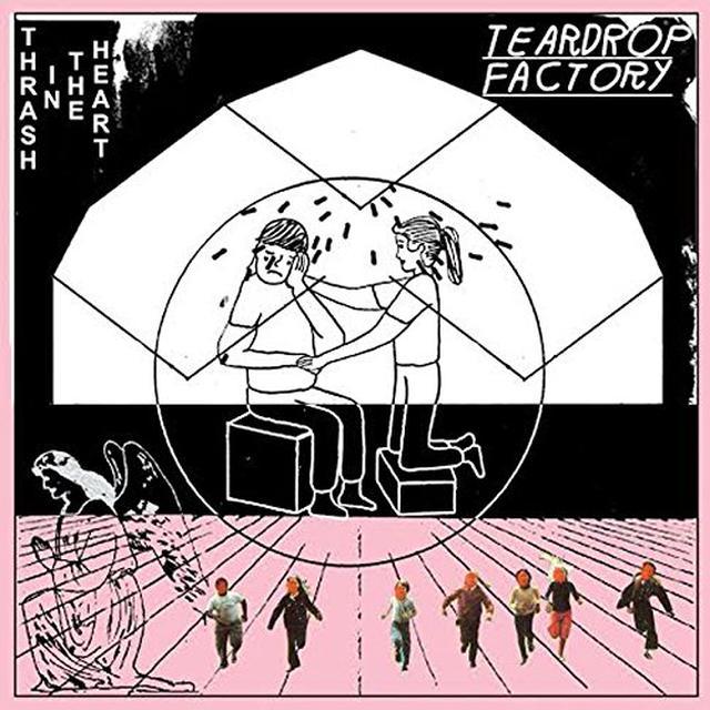 Teardrop Factory THRASH IN THE HEART Vinyl Record - UK Import