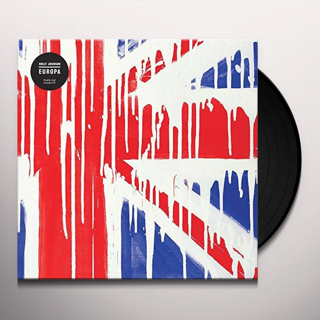 Holly Johnson EUROPA Vinyl Record - UK Import