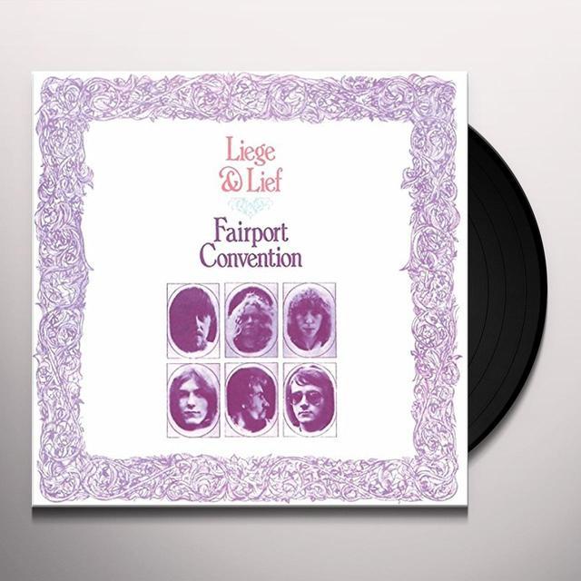 Fairport Convention LIEGE & LIEF Vinyl Record - UK Import