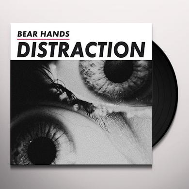 Bear Hands DISTRACTION Vinyl Record - UK Import