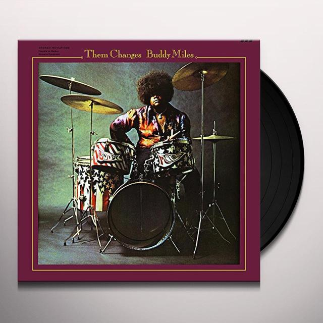 Buddy Miles THEM CHANGES Vinyl Record - Holland Release