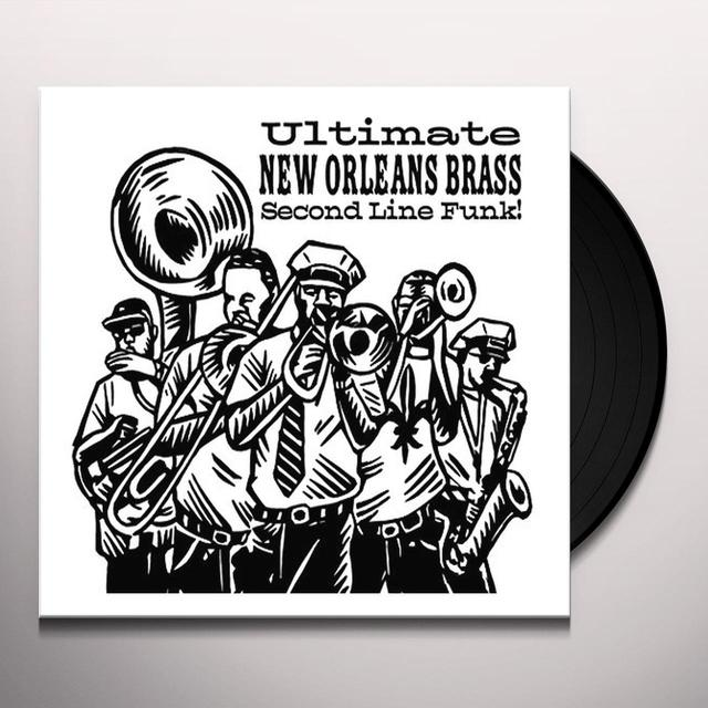 Ultimate New Orleans Brass / Various ULTIMATE NEW ORLEANS BRASS BAND / VARIOUS Vinyl Record