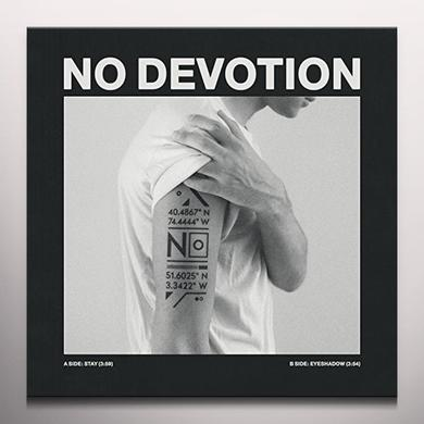 No Devotion STAY / EYESHADOW (WHITE VINYL) Vinyl Record - Colored Vinyl