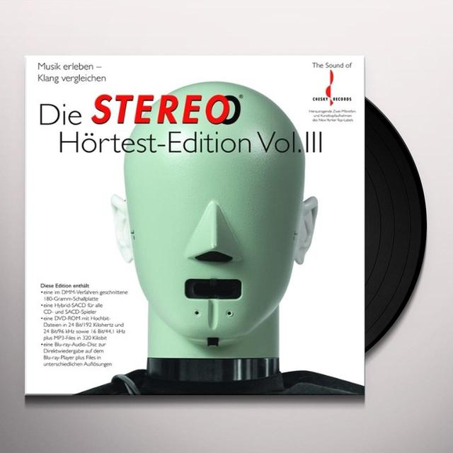 Die Stereo Hortest-Edition 3 / Various (Gate) DIE STEREO HORTEST-EDITION 3 / VARIOUS Vinyl Record - Gatefold Sleeve