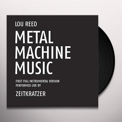 Lou Reed METAL MACHINE MUSIC: FIRST FULL INSTRUMENTAL VERSI Vinyl Record