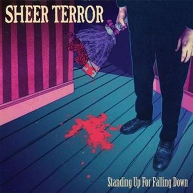 Sheer Terror STANDING UP FOR FALLING DOWN Vinyl Record - Gatefold Sleeve