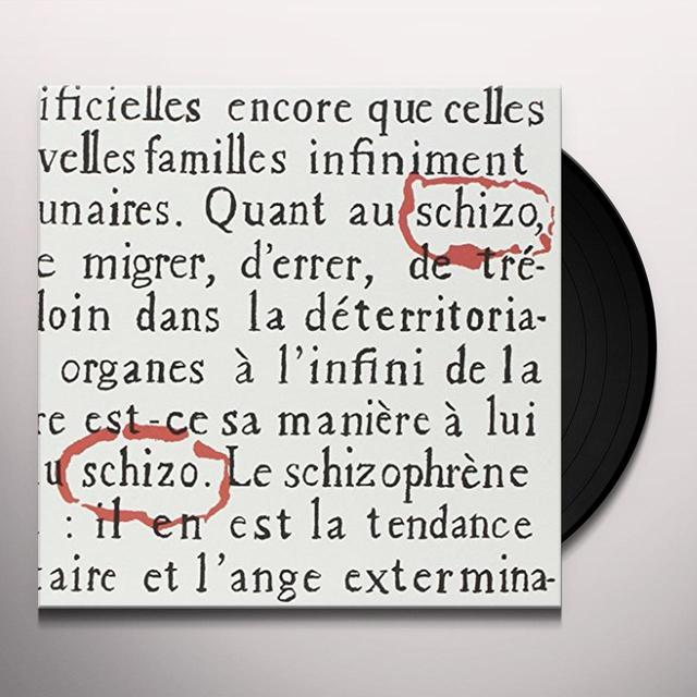 Schizo LE VOYAGEUR (EP) Vinyl Record