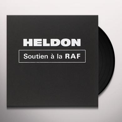 Heldon SOUTIEN A LA RAF (EP) Vinyl Record