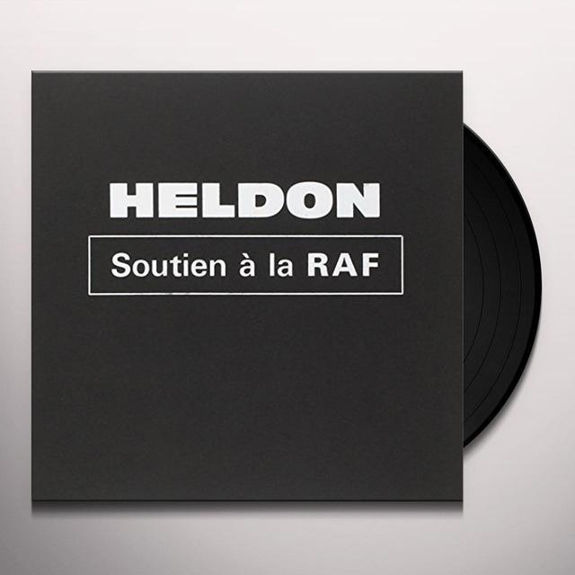 Heldon SOUTIEN A LA RAF Vinyl Record
