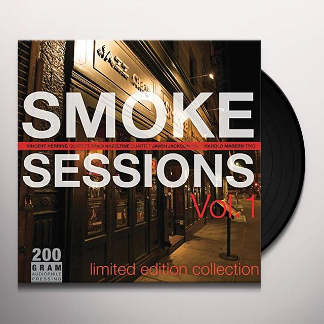 Smoke Sessions 1 / Various (Gate) SMOKE SESSIONS 1 / VARIOUS Vinyl Record - Gatefold Sleeve