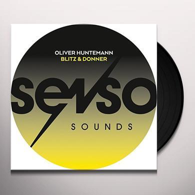Oliver Huntemann BLITZ & DONNER (EP) Vinyl Record