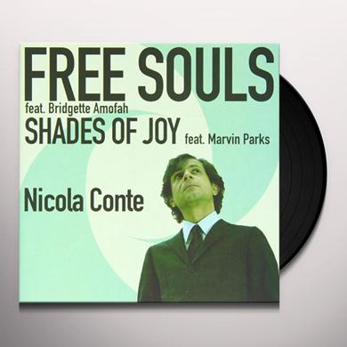 Nicola Conte FREE SOULS-SHADES OF JOY Vinyl Record