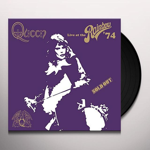 Queen LIVE AT THE RAINBOW Vinyl Record - Limited Edition