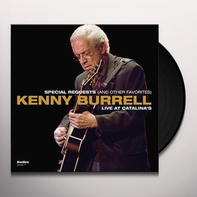 Kenny Burrell SPECIAL REQUEST (AND OTHER FAVORITES) Vinyl Record - 180 Gram Pressing