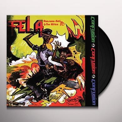 Fela Kuti CONFUSION Vinyl Record