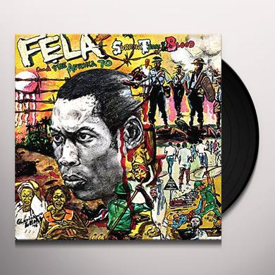 Fela Kuti SORROW TEARS & BLOOD Vinyl Record