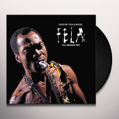 Fela Kuti TEACHER DON'T TEACH ME NONSENSE Vinyl Record