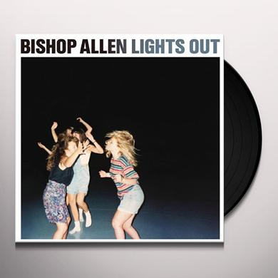 Bishop Allen LIGHTS OUT Vinyl Record