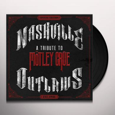 NASHVILLE OUTLAWS-A TRIBUTE TO MOTLEY CRUE / VAR Vinyl Record