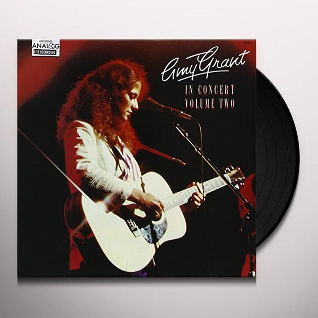 Amy Grant IN CONCERT: 2 Vinyl Record