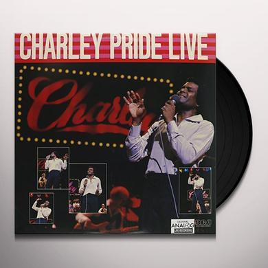CHARLEY PRIDE LIVE Vinyl Record