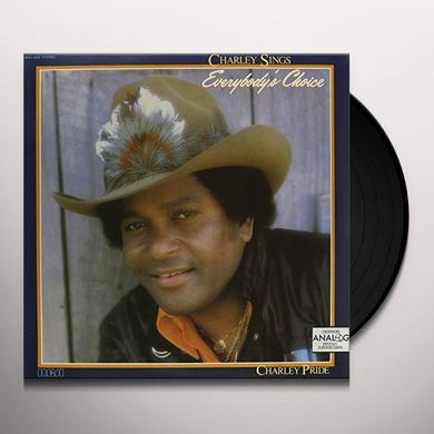 Charley Pride CHARLEY SINGS EVERYBODY'S CHOICE Vinyl Record
