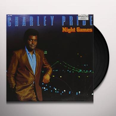 Charley Pride NIGHT GAMES Vinyl Record