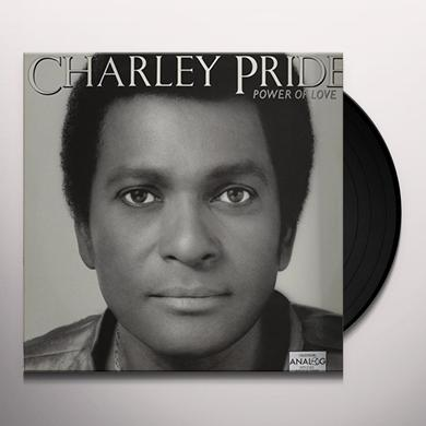 Charley Pride POWER OF LOVE Vinyl Record