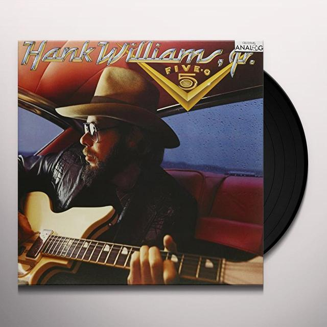Hank Williams, Jr. FIVE-O-FIVE: I'M FOR LOVE AIN'T MISBEHAVIN' Vinyl Record