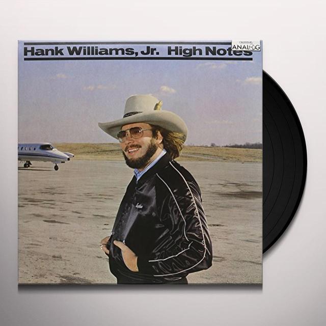 Hank Williams, Jr. HIGH NOTES Vinyl Record