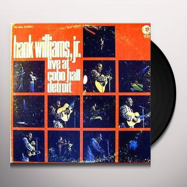 Hank Williams, Jr. LIVE AT COBO HALL DETROIT: SONGS OF HANK SR. Vinyl Record