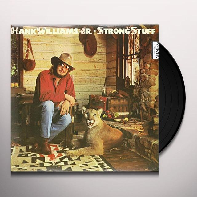 Hank Williams, Jr. STRONG STUFF Vinyl Record