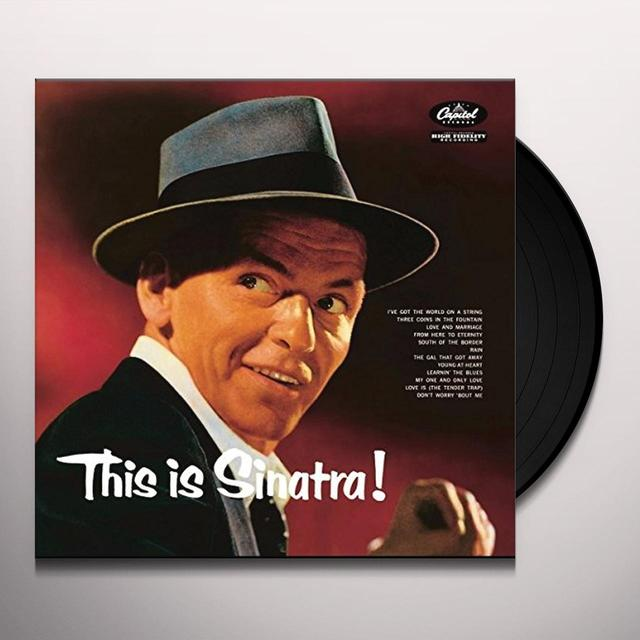 Frank Sinatra THIS IS SINATRA Vinyl Record