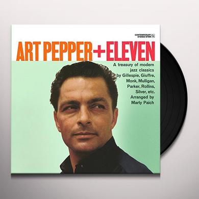 ART PEPPER + ELEVEN: MODERN JAZZ CLASSICS Vinyl Record