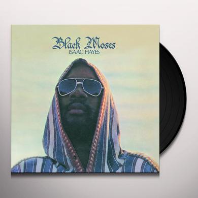 Isaac Hayes BLACK MOSES Vinyl Record