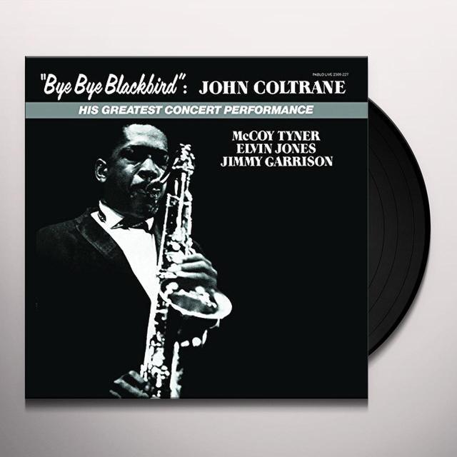 John Coltrane BYE BYE BLACKBIRD Vinyl Record