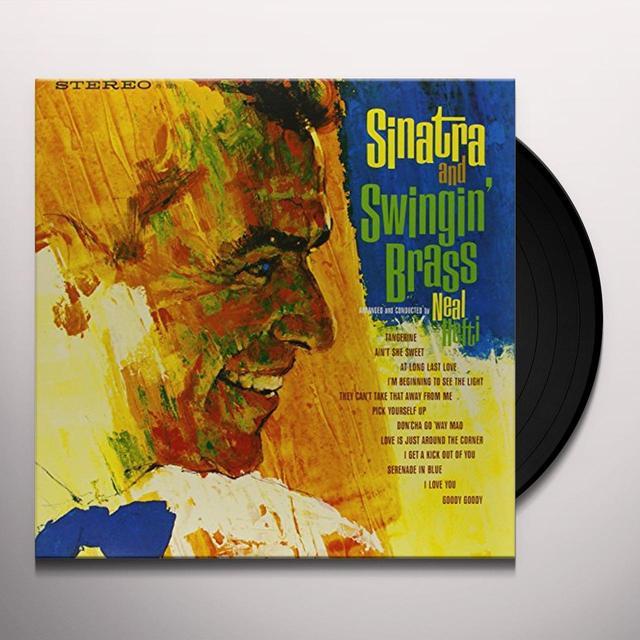 Frank Sinatra SINATRA & SWINGIN BRASS Vinyl Record