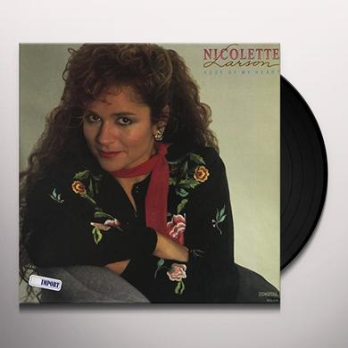 Nicolett Larson ROSE OF MY HEART Vinyl Record