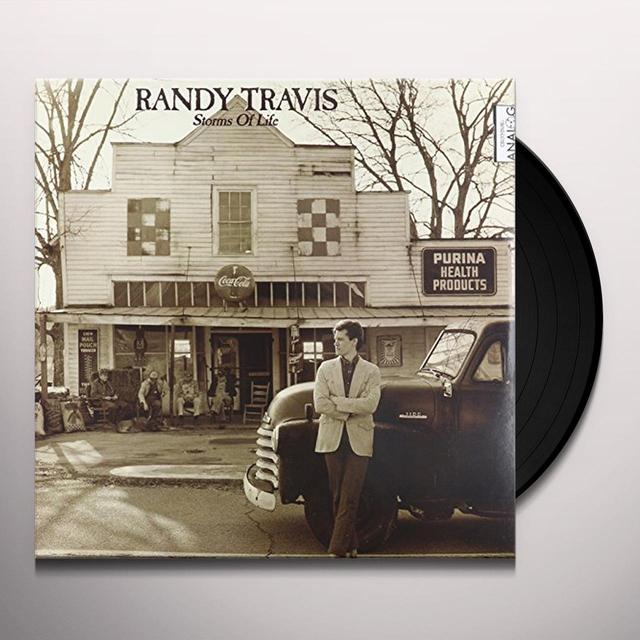 Randy Travis STORMS OF LIFE Vinyl Record