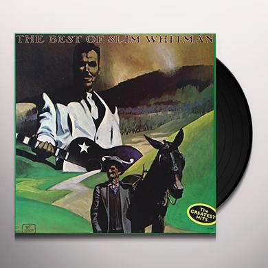 BEST OF SLIM WHITMAN (I REMEMBER YOU) Vinyl Record