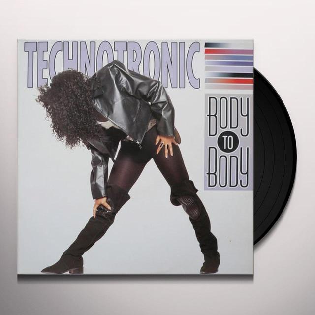 Technotronic BODY TO BODY Vinyl Record