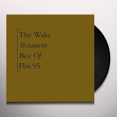 Wake TESTAMENT: BEST OF Vinyl Record