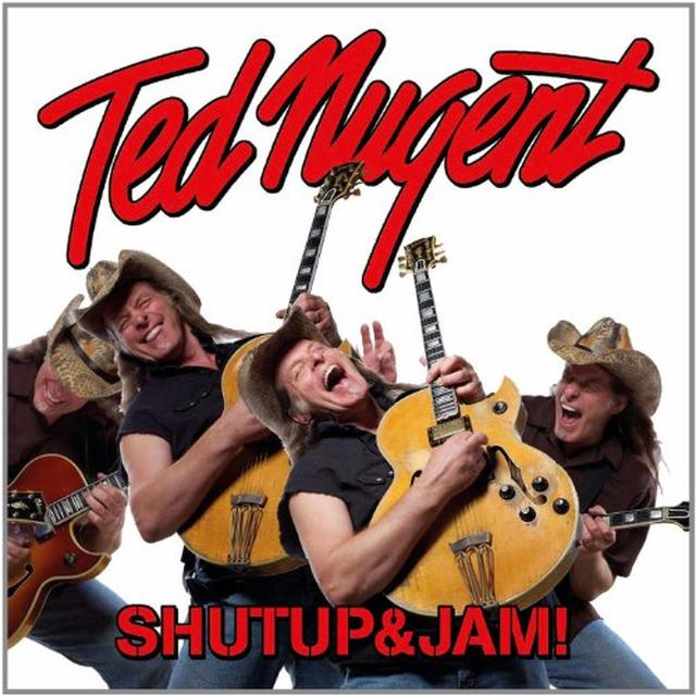 Ted Nugent SHUTUP & JAM! (GER) Vinyl Record