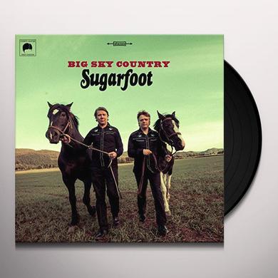 Sugarfoot BIG SKY COUNTRY Vinyl Record