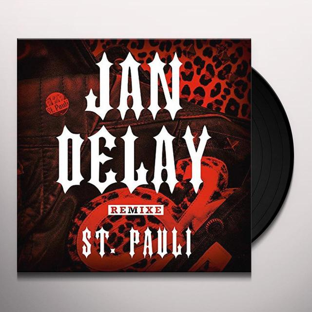 Jan Delay ST PAULI-REMIX EP (GER) Vinyl Record
