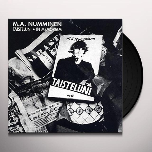 M.A. Numminen TAISTELUNI (GER) Vinyl Record